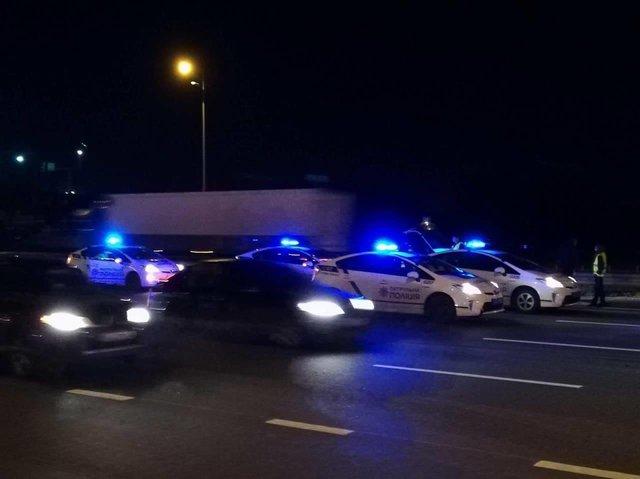 ВКиеве шофёр, который пытался исчезнуть от милиции, стал первопричиной ДТП