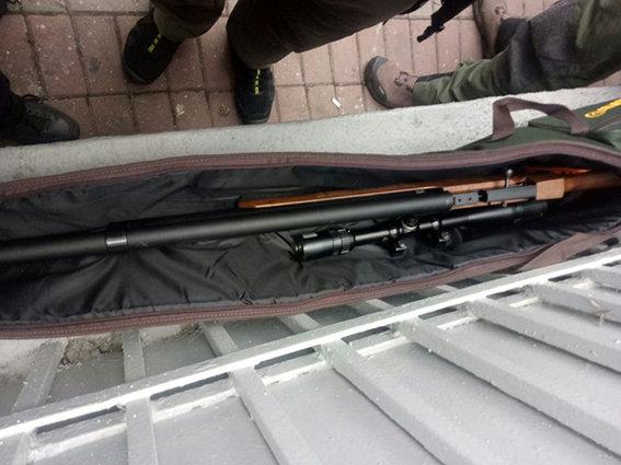 Милиция задержала направлявшегося кРаде мужчину свинтовкой