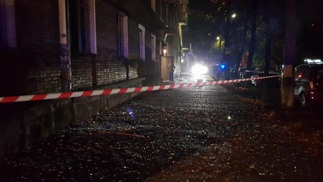 МВД: В итоге взрыва вКиеве умер человек