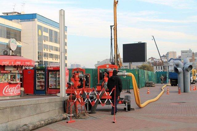Из-за стройки строение ж/д вокзала чуть незатопило фекалиями— ЧПвКиеве