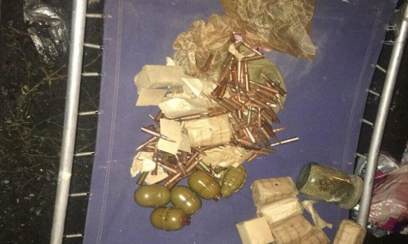 Киевлянин вывез иззоны АТО тысячи патронов и46 гранат