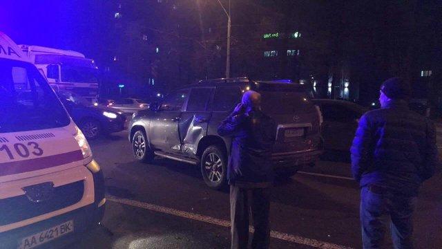 ВКиеве напроспекте Победы случилось ДТП, есть пострадавшие