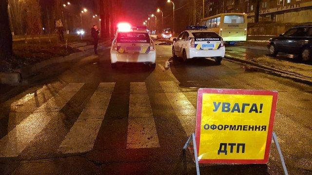 ВКиеве судья на Ленд-Ровер  устроил смертельное ДТП