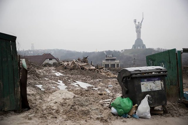 Кличко поручил остановить незаконное строительствоЖК в личном секторе вцентре столицы Украины