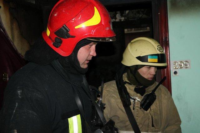 ВБахмутском районе напожаре найдено мужское тело