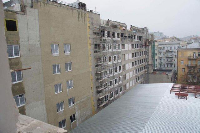 Фасад восстановленного после Майдана Дома профсоюзов откроют весной