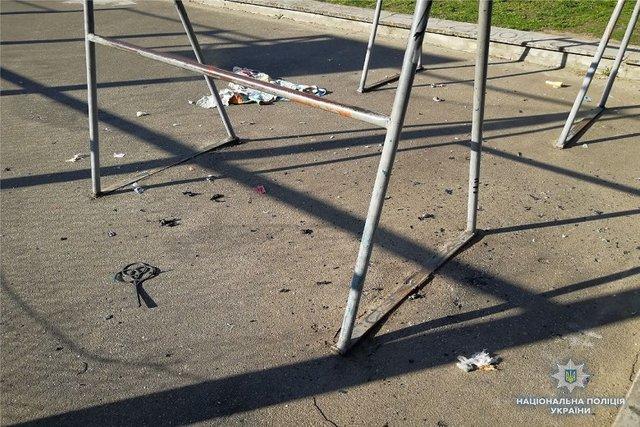 ВКиеве прогремел очередной взрыв: размещены фото сместаЧП