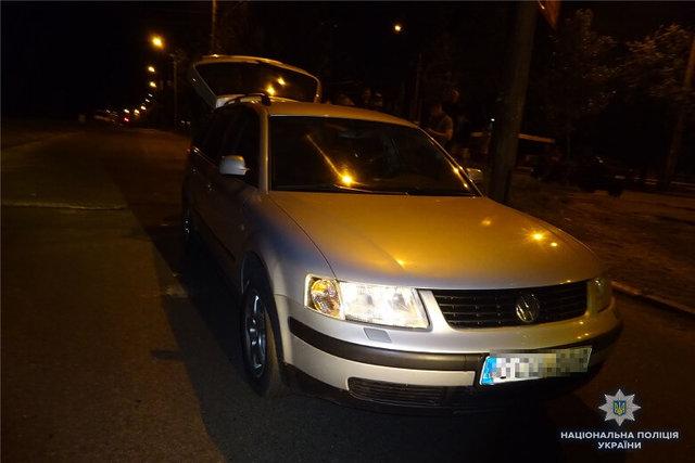 ВКиеве шофёр избил битой полицейского из-за замечания