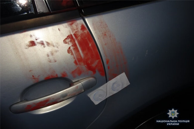 ВКиеве шофёр из-за замечания избил полицейского битой