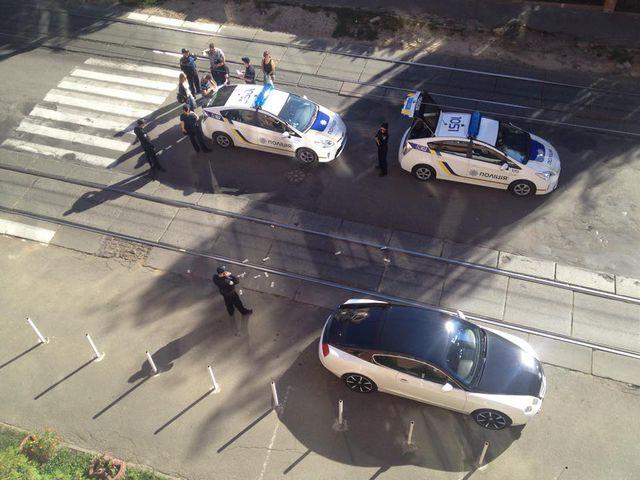 Патрульная полиция Киева обнаружила заминированный Lexus - Цензор.НЕТ 9377