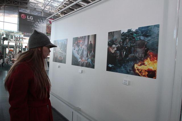 В Борисполе почтили память героев Небесной Сотни