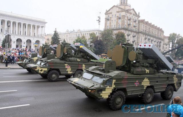 Шкиряк: Празднование 25-летия Независимости вгосударстве Украина прошло спокойно