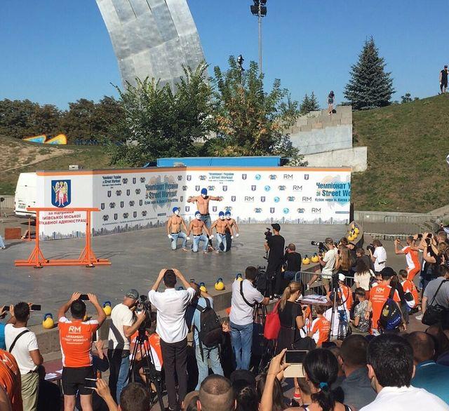 Вцентре украинской столицы состоится чемпионат Украины поStreet Workout