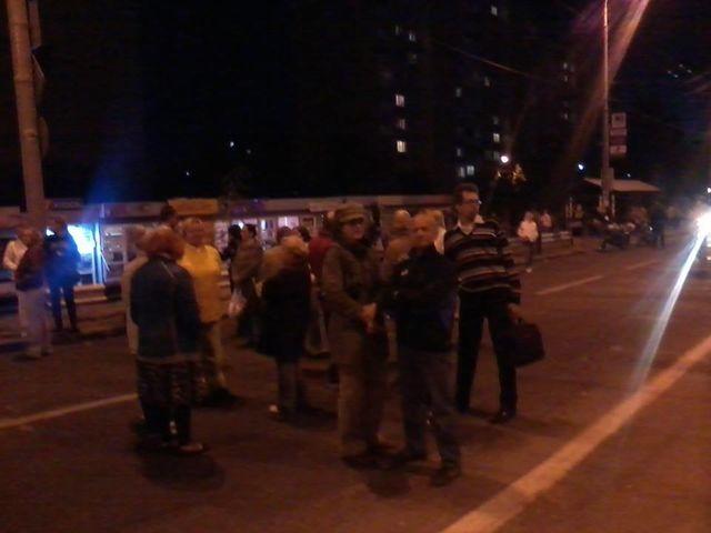 Чучело Кличко сожгли на«Героев Днепра»