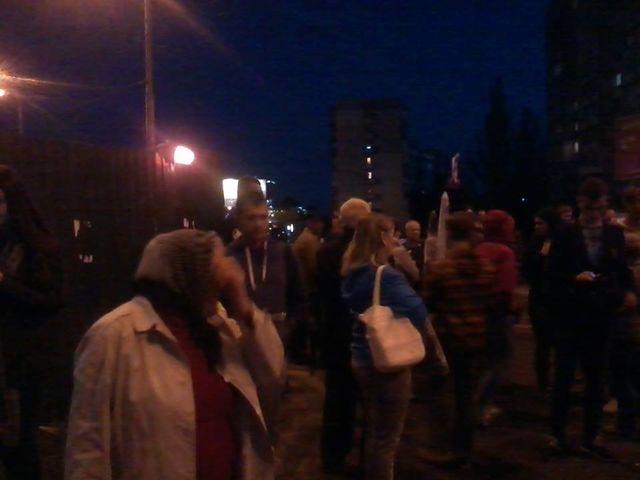Граждане Оболони единогласно выступили против возведения ТРЦ на«Героев Днепра»