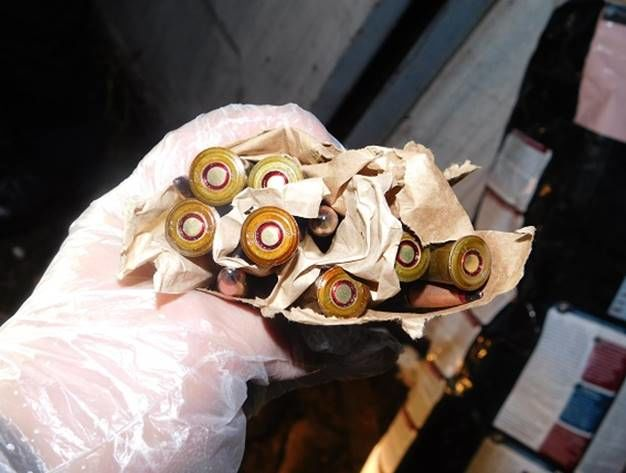 Вгараже столицы Украины отыскали большой склад оружия