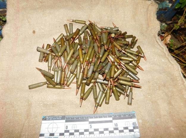 Милиция нашла встолице склад сбоеприпасами, приблизительно иззоны АТО