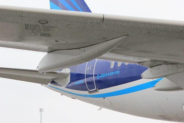 Борисполь остановил обслуживание рейсов из-за непогоды