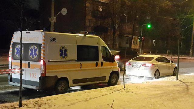 ВКиеве втакси скончался парень