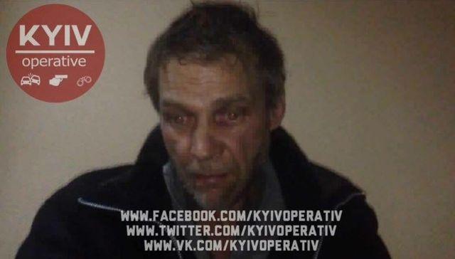 ВКиеве полицейские задержали серийного насильника