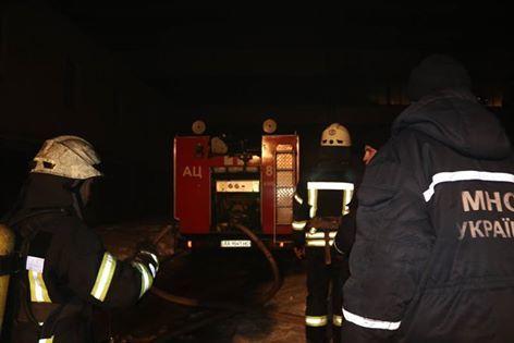 ВДнипре горела многоэтажка: cотрудники экстренных служб эвакуировали 200 человек