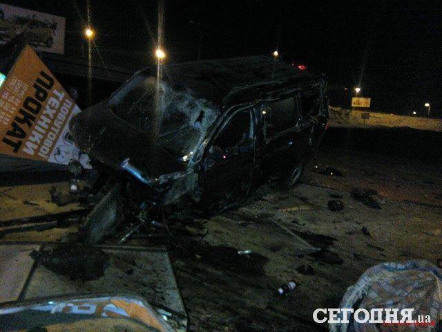 ВКиеве нетрезвый шофёр Фольксваген пытался заехать настанцию метро