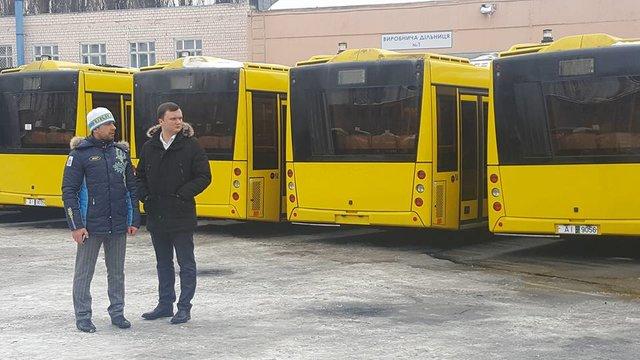 Через неделю Киевом будут курсировать 50 новых автобусов из Республики Беларусь
