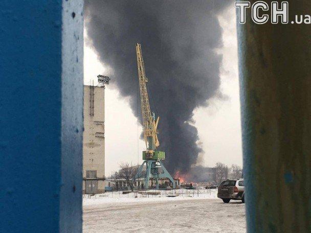 ГСЧС: Пожар насудоремонтном заводе вКиеве локализован