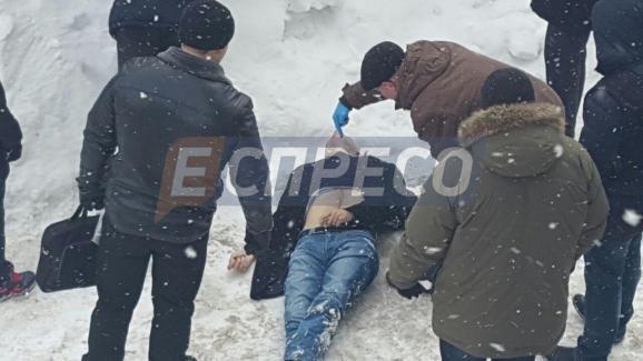 Вцентре столицы Украины утром убит мужчина