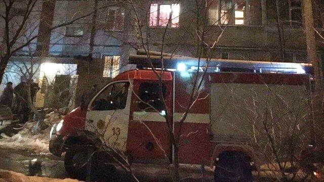 ВКиеве при пожаре погибла женщина